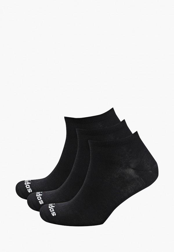 женские носки adidas, черные