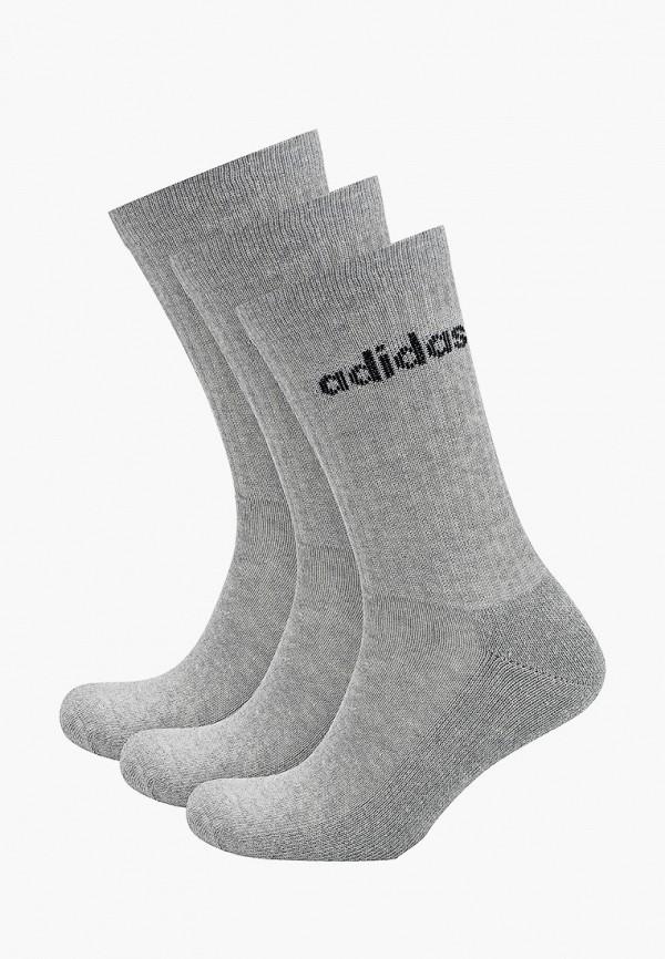 женские носки adidas, серые