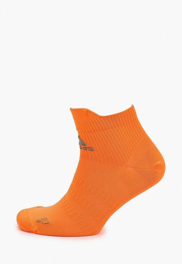 женские носки adidas, оранжевые