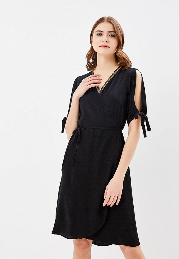 Купить Платье adL, AD005EWAMJS5, черный, Весна-лето 2018