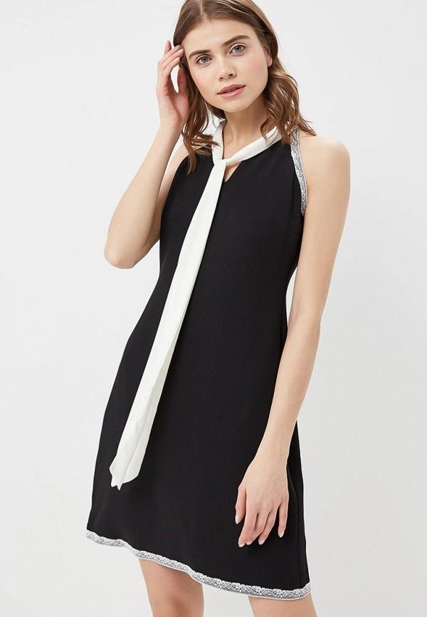 женское платье adl, черное