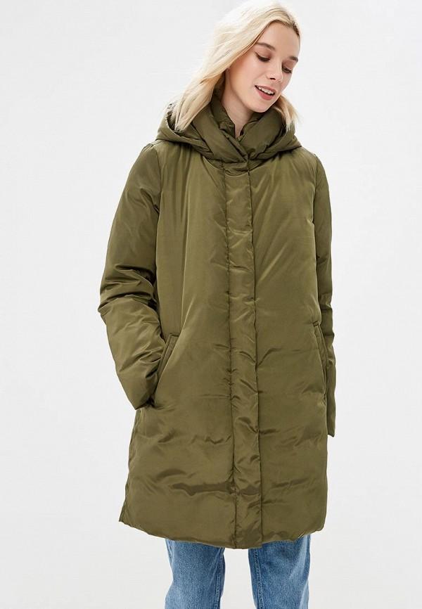 Купить Куртка утепленная adL, adL AD005EWCJEF0, хаки, Осень-зима 2018/2019