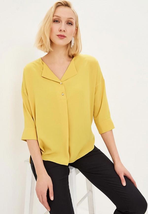 женская блузка adl, желтая