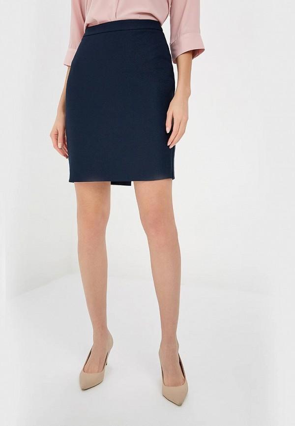женская прямые юбка adl, синяя
