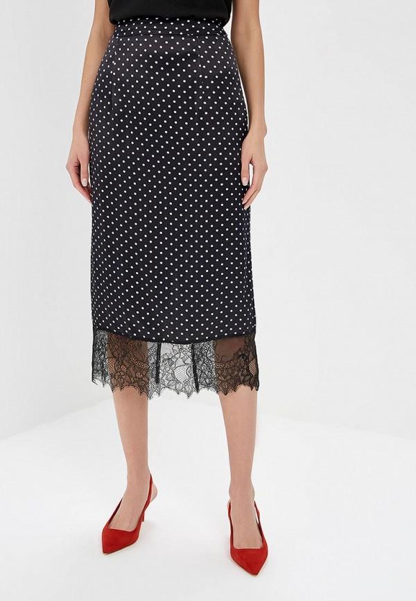 женская прямые юбка adl, черная