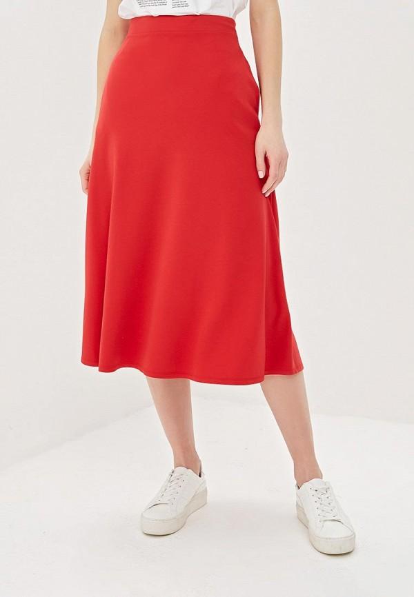 женская юбка adl, красная