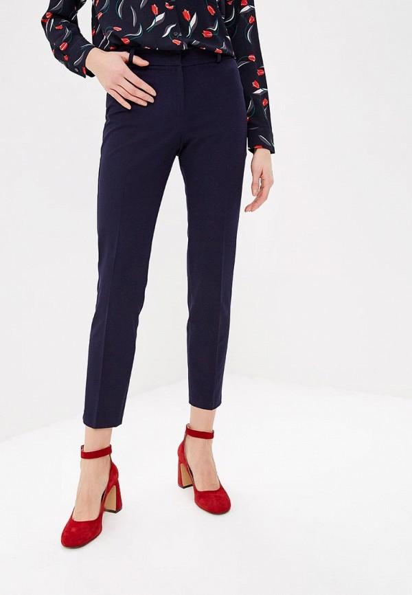женские классические брюки adl, синие