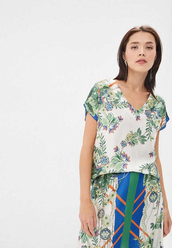 женская блузка adl, разноцветная