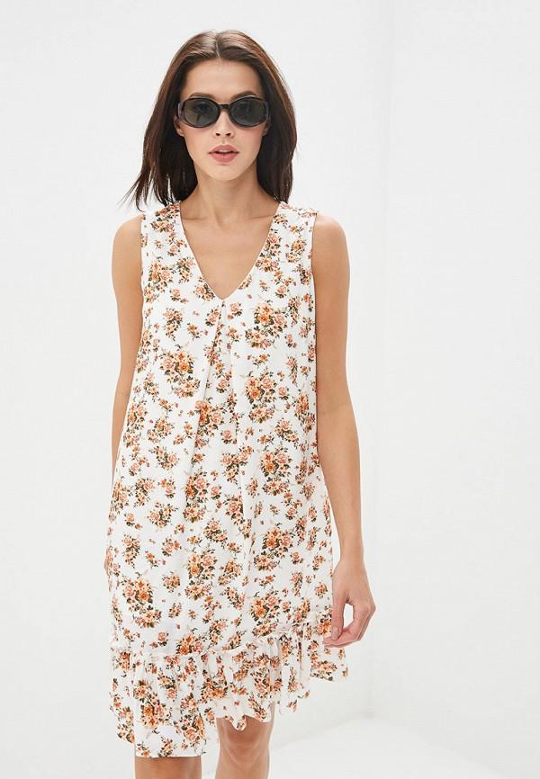 женское повседневные платье adl, белое