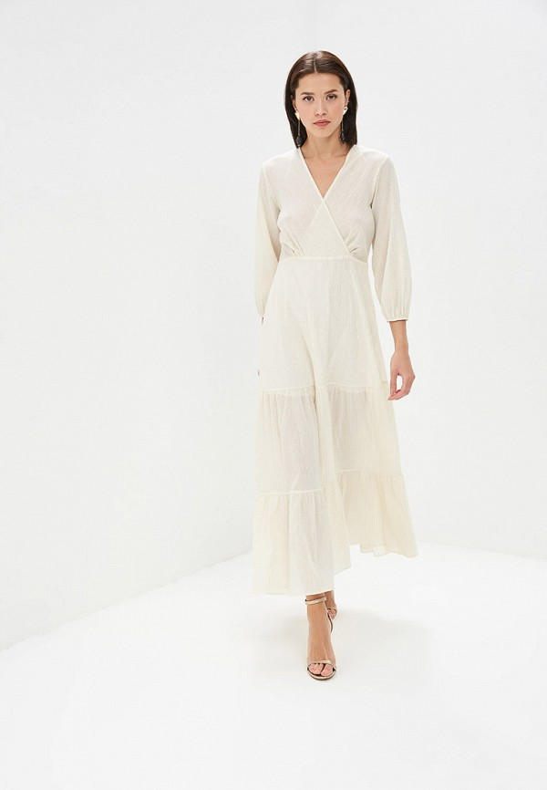 женское повседневные платье adl, бежевое