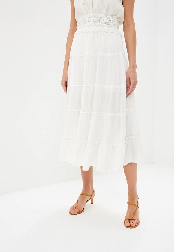 женская прямые юбка adl, белая