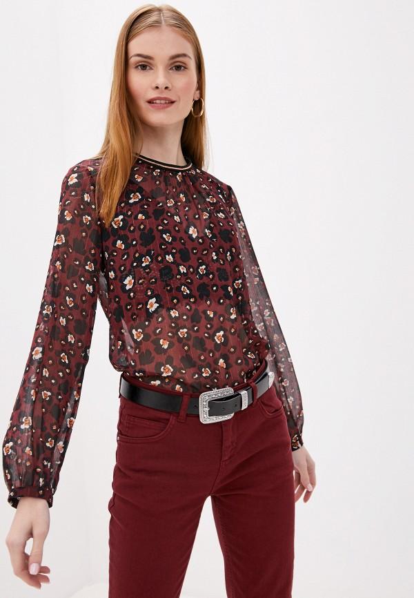 Блуза adL adL AD005EWGTDD0 брюки женские adl цвет бордовый 15336029000 012 размер xs 42