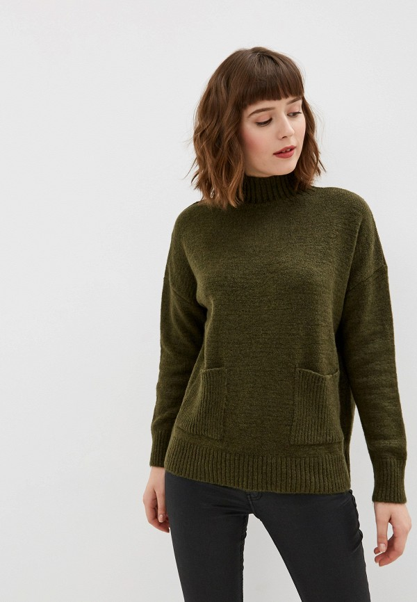 женский свитер adl, зеленый