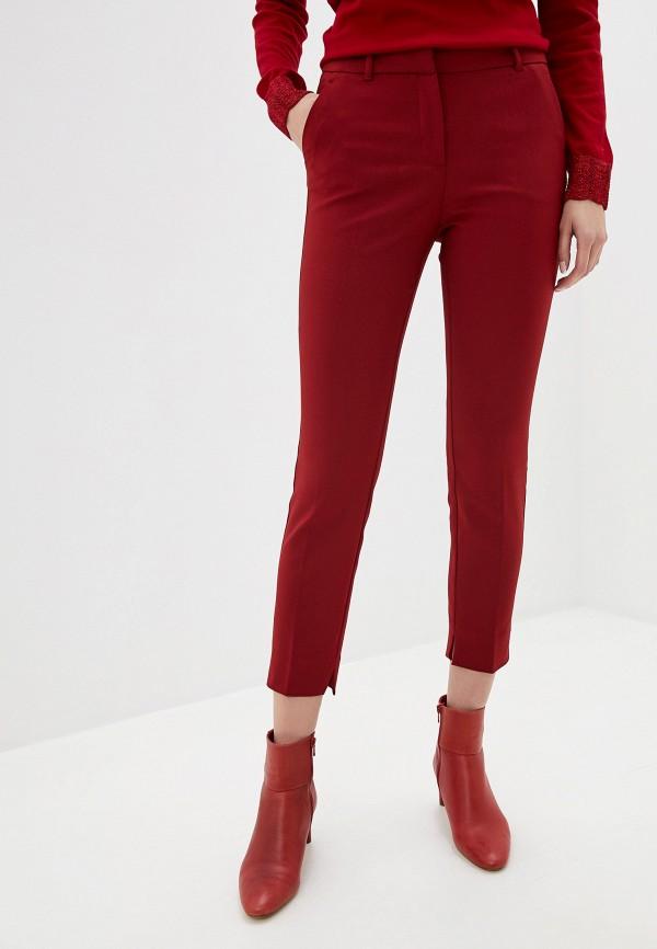женские повседневные брюки adl, красные