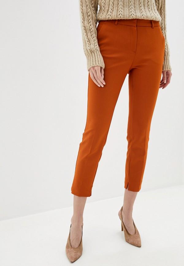 женские повседневные брюки adl, оранжевые