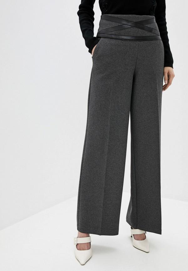 женские повседневные брюки adl, коричневые