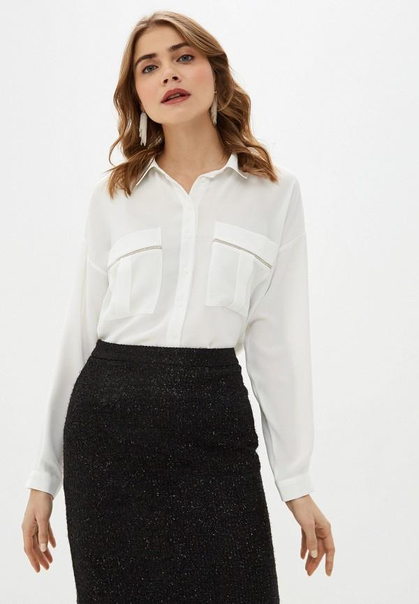 женская блузка с длинным рукавом adl, белая