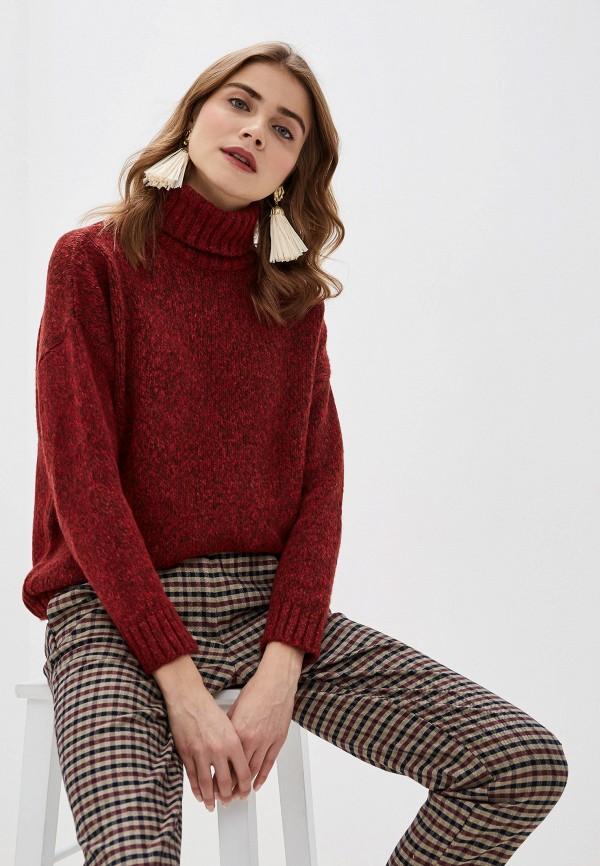 женский свитер adl, бордовый