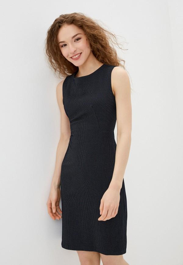 женское платье-футляр adl, синее