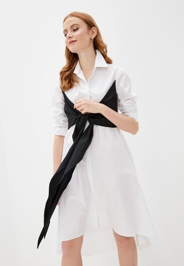 женское платье adl, белое