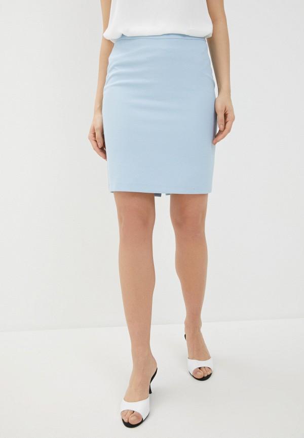 женская зауженные юбка adl, голубая