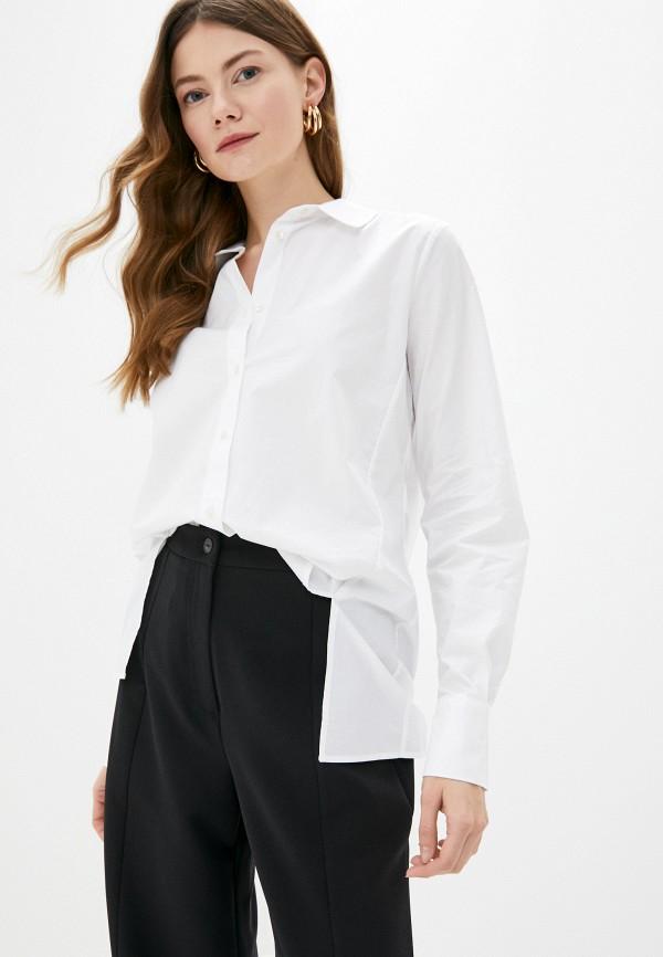 женская рубашка с длинным рукавом adl, белая
