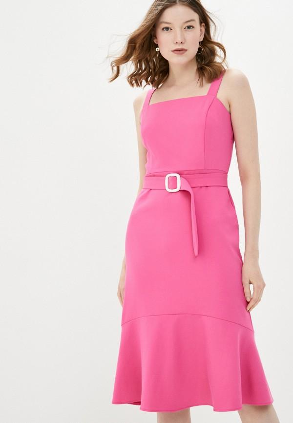 женское повседневные платье adl, розовое
