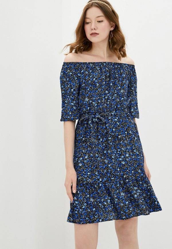женское платье adl, синее