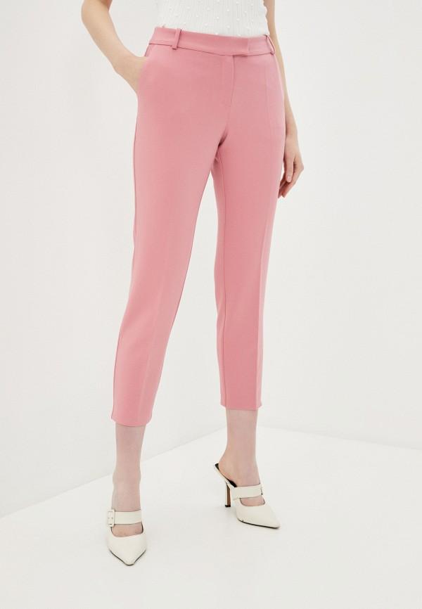 женские брюки adl, розовые