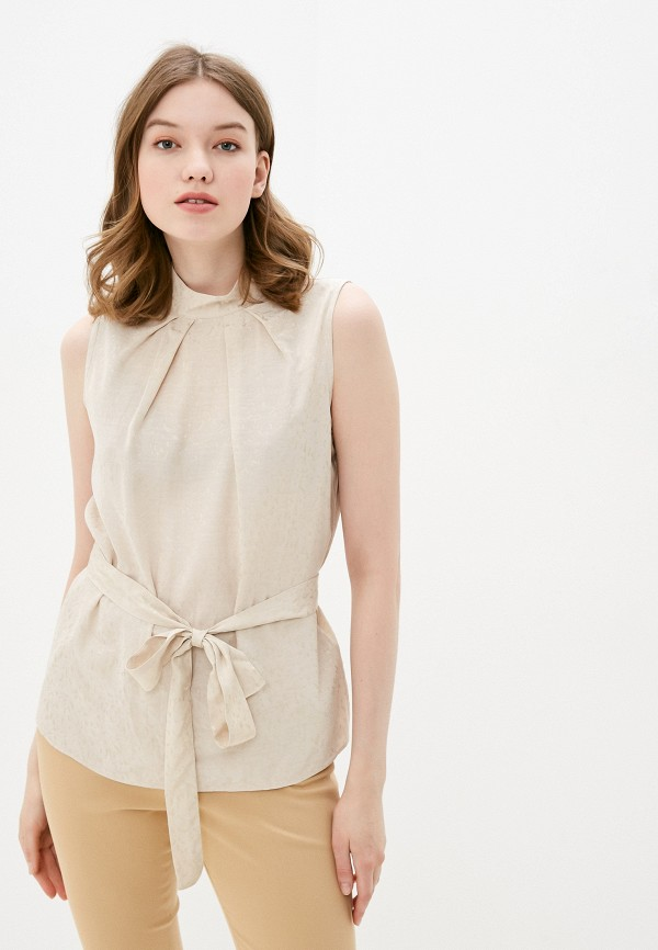 женская блузка adl, бежевая