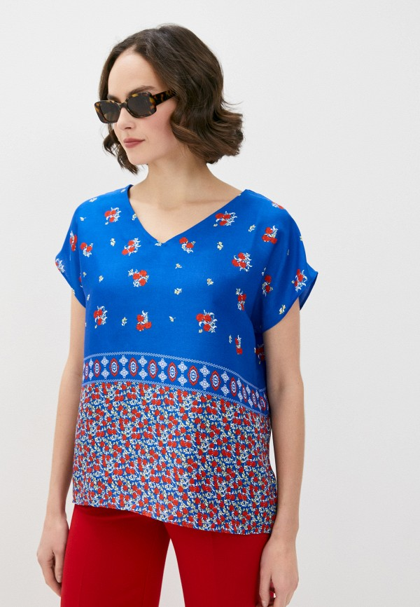 Блуза adL adL 11536585001 синий фото