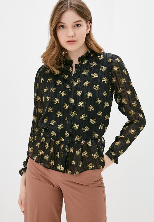 женская блузка adl, черная