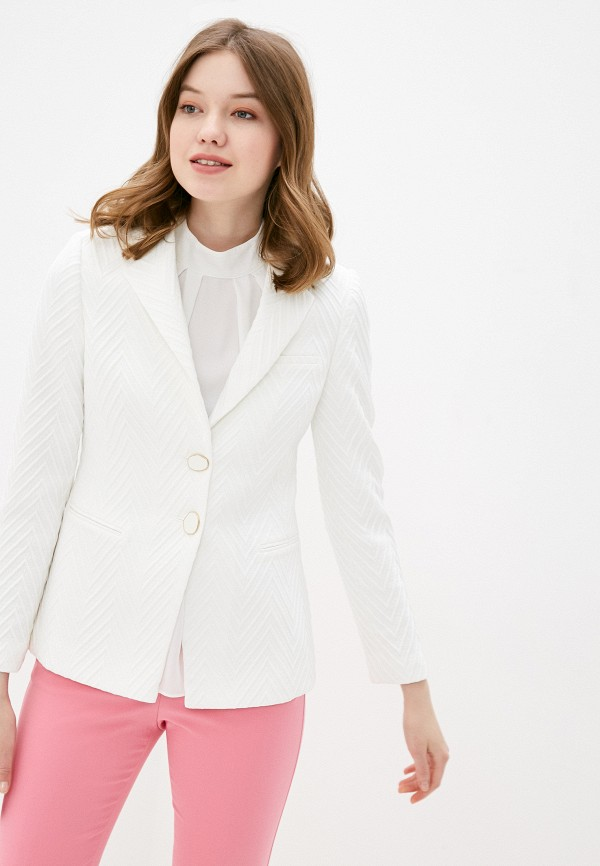 женский пиджак adl, белый