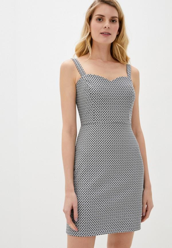 женское платье-футляр adl, черное