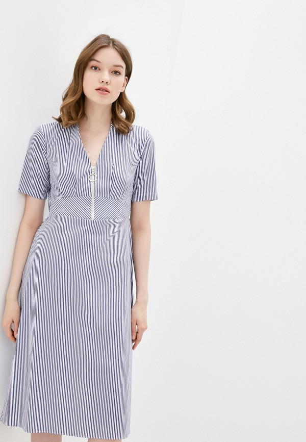 женское повседневные платье adl, синее