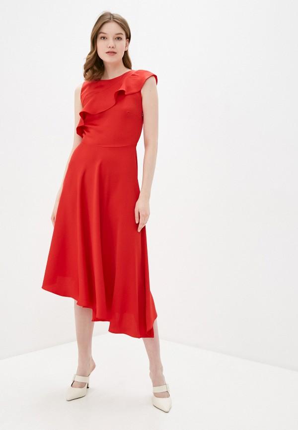 женское повседневные платье adl, красное