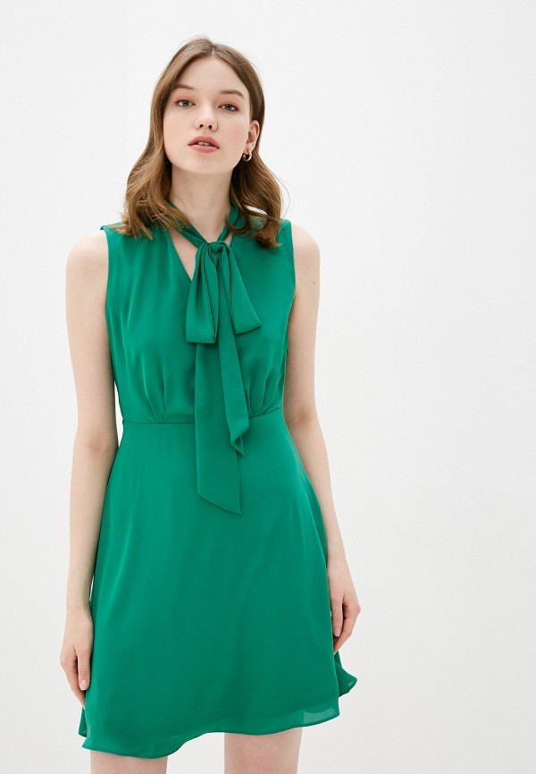 женское повседневные платье adl, зеленое