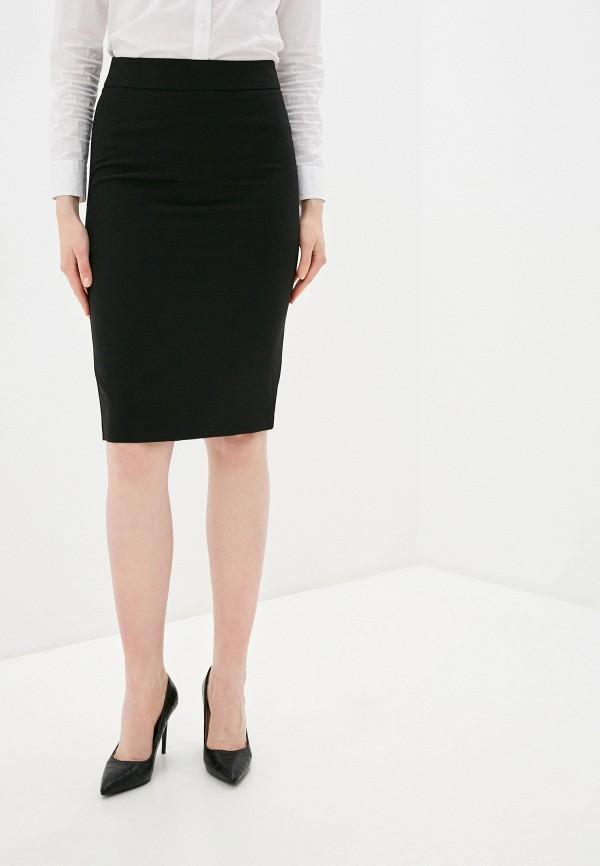 женская зауженные юбка adl, черная