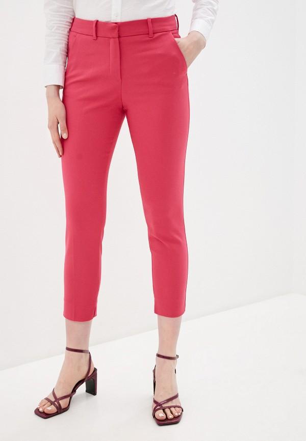 женские повседневные брюки adl, розовые