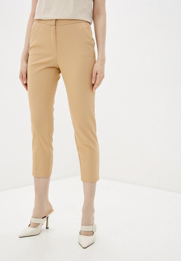 женские повседневные брюки adl, бежевые
