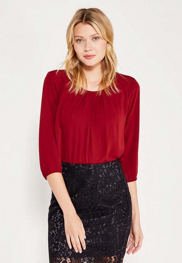 Блуза adL adL AD005EWWQN36 блуза тренд радужный блеск цвет бордовый