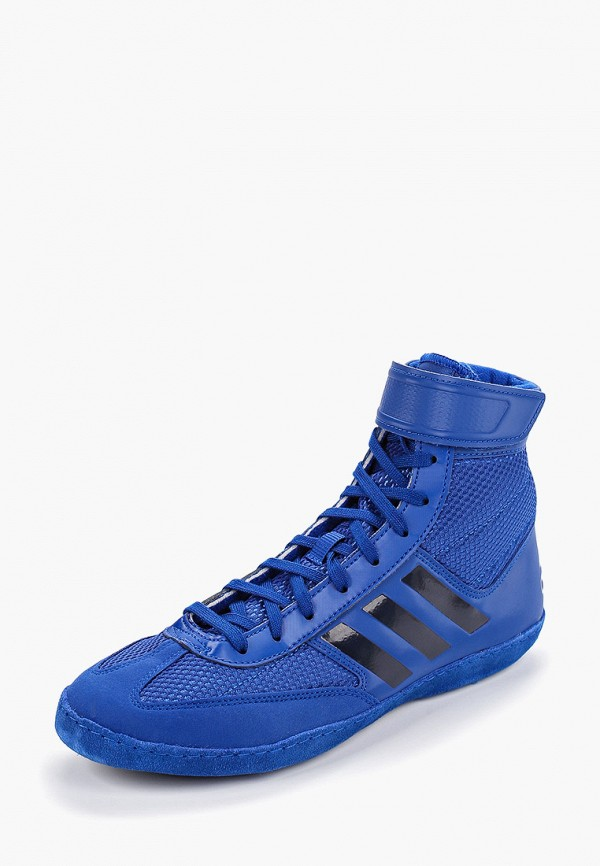 Фото 2 - Борцовки adidas Combat синего цвета