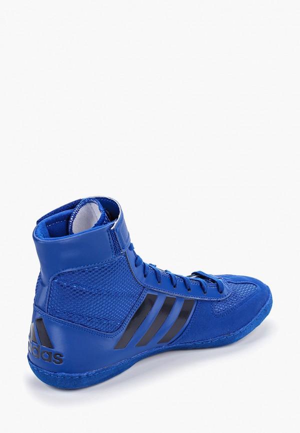 Фото 3 - Борцовки adidas Combat синего цвета
