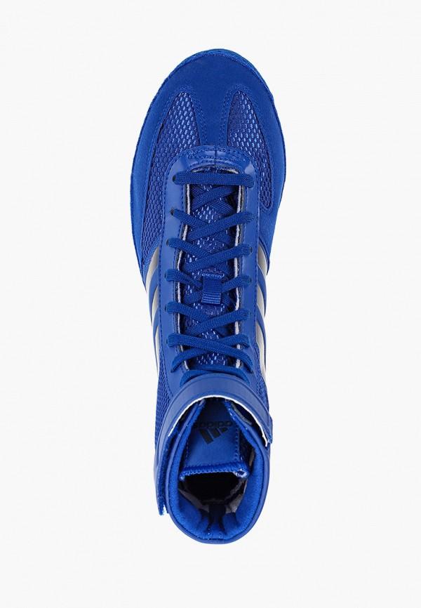 Фото 4 - Борцовки adidas Combat синего цвета