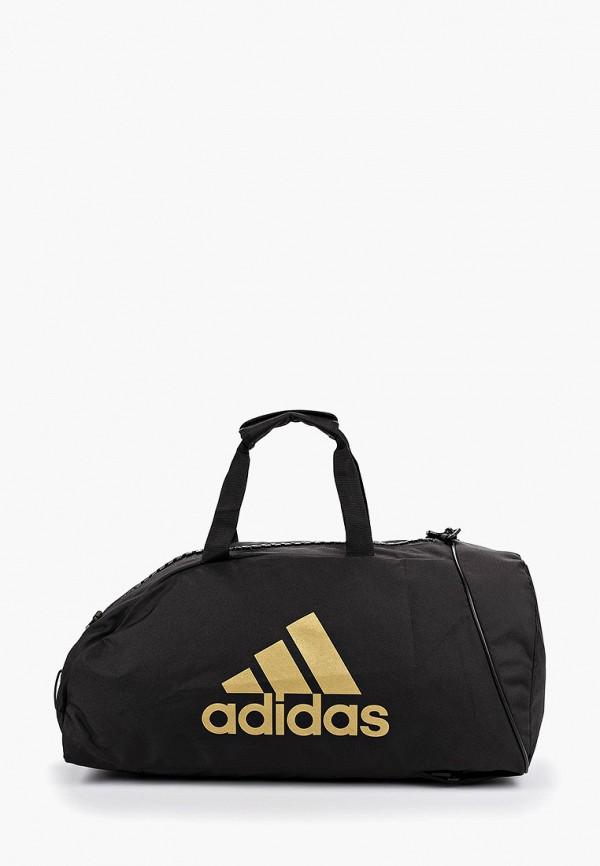 Фото - Сумку спортивная adidas Combat черного цвета