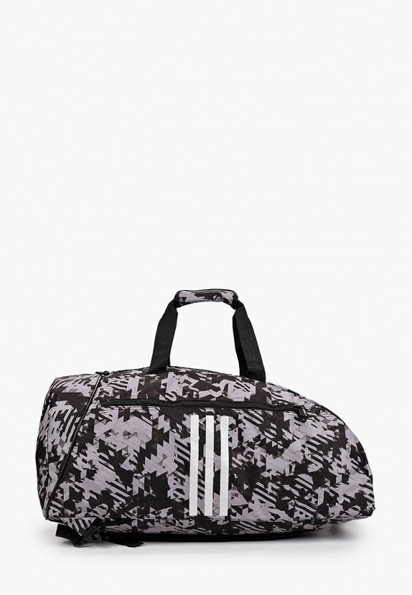 женская спортивные сумка adidas, серая