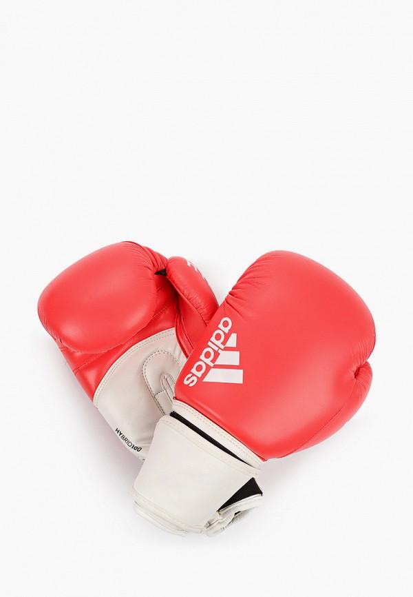 женские перчатки adidas, красные