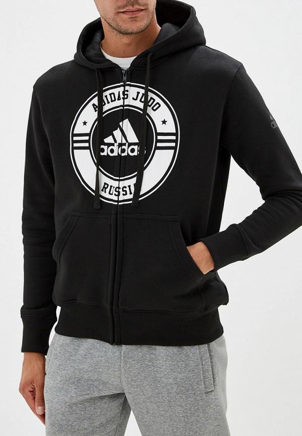 Фото - мужскую толстовку adidas Combat черного цвета