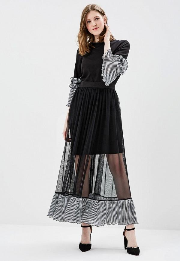 Купить Платье Adzhedo, Adzhedo AD016EWAOMV2, черный, Весна-лето 2018