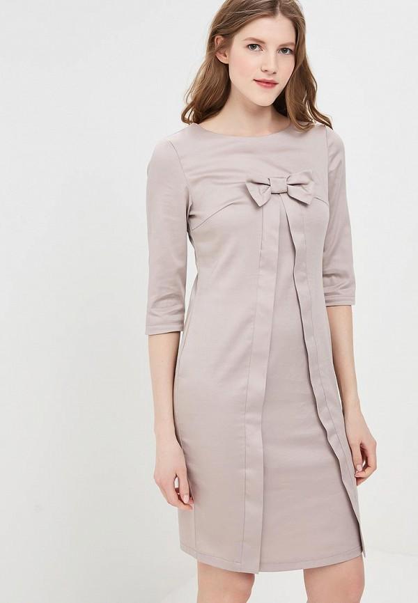 Купить Платье Adzhedo, Adzhedo AD016EWBFBJ3, бежевый, Весна-лето 2018